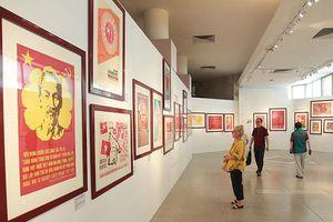 Triển lãm 'Chân dung Hồ Chí Minh – góc nhìn từ tranh cổ động'