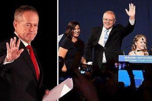 Bầu cử Úc: Đương kim thủ tướng chiến thắng 'thần kỳ'