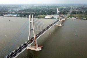 Chính thức thông xe cầu Vàm Cống bắc qua sông Hậu