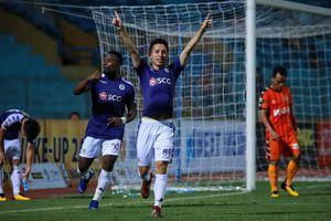 Lần đầu chơi cho Hà Nội, thủ môn Tiến Dũng trải lòng về hai bàn thua