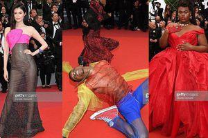 Siêu mẫu nội y mặc như không, dàn nam vũ công 'quằn quại' trên thảm đỏ Cannes
