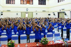 Gần 500 học viên tham gia tập huấn cán bộ Đoàn - Hội - Đội cơ sở
