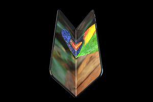 iPhone gập sẽ có thiết kế tương tự Galaxy Fold ?
