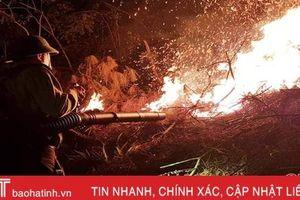Cảnh báo nguy cơ cháy rừng do nắng nóng ở Hà Tĩnh