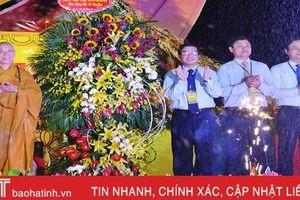 Hà Tĩnh long trọng tổ chức Đại lễ Phật đản Vesak 2019
