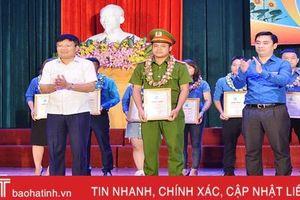 Hồng Lĩnh tuyên dương 15 gương thanh niên, công trình tiêu biểu