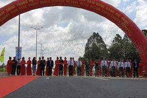 Sau khánh thành, hàng ngàn người dân hân hoan qua cầu Vàm Cống