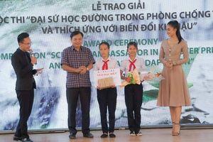 Học sinh Quảng Nam đạt giải đặc biệt Đại sứ học đường Liên hiệp Quốc