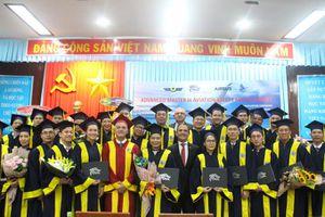 Học viện Hàng không: Phối hợp thành công đào tạo Thạc sỹ cao cấp