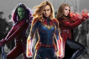 Dàn nữ siêu anh hùng của Marvel xuất hiện đông đủ trong bức hình hậu trường 'Avengers: Endgame'