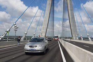 Thông xe cầu 5.700 tỷ nối Đồng Tháp với Cần Thơ