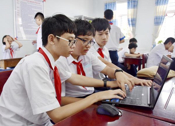 196 học sinh tham dự hội thi 'Tin học trẻ' TP. Vũng Tàu