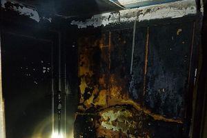 Cháy căn hộ tầng 22 chung cư Lideco Hạ Long
