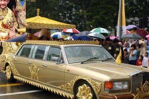 Quốc vương Brunei sở hữu bộ sưu tập Rolls-Royce nhiều nhất thế giới với 500 chiếc