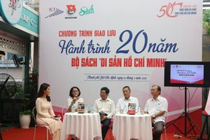 Tìm hiểu hành trình 20 năm làm nên bộ sách Di sản Hồ Chí Minh
