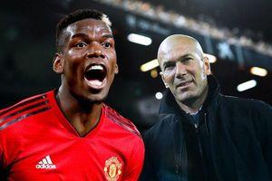 Zidane yêu cầu Pogba nhanh chóng rời MU nếu muốn sang Real Madrid?