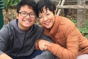 MC Thảo Vân: Đọc bài văn của con trai, ngực nghẹn lại, nước mắt cứ thế ứa ra