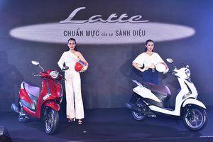 Cận cảnh xe máy Yamaha Latte gần 38 triệu đồng vừa 'trình làng'