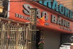 Điều tra vụ nổ súng tại quán karaoke ở Nam Định