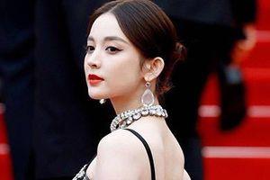 Mỹ nữ Tân Cương mặc váy xuyên thấu, kiêu sa trên thảm đỏ Cannes