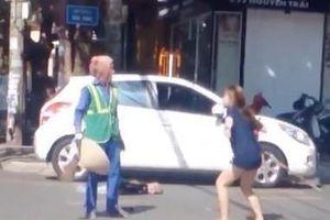 'Không thể chấp nhận hành vi côn đồ, lao vào đánh cô lao công'