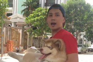 Nam thanh niên quát nạt bảo vệ vì bị nhắc dắt chó trong chung cư