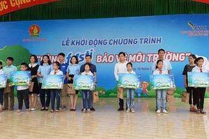Hàng trăm liên đội các trường tiểu học tham gia bảo vệ môi trường