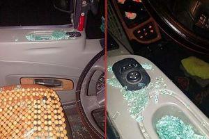 Xác minh thông tin ôtô bị bắn vỡ kính khi chạy trên quốc lộ