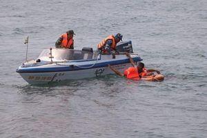 Khánh Hòa diễn tập sự cố tràn dầu trên biển
