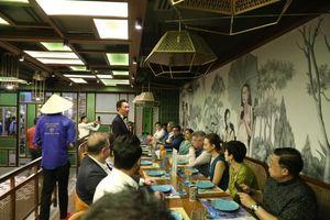 Ra mắt Câu lạc bộ Ẩm thực Đại sứ Delhi