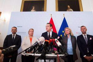 Chính phủ Áo tan vỡ vì bê bối liên quan đến tài phiệt Nga?