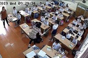 Buộc thôi việc cô giáo trường Tiểu học Quán Toan tát học sinh