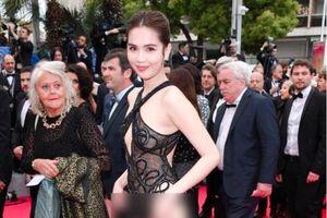 Ngọc Trinh gây sốc khi diện những bộ trang phục hở hang phản cảm đến LHP Cannes 2019