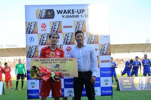 Văn Toàn lập kỷ lục mới tại V.League 2019