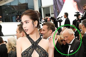Nhà thiết kế nói gì về trang phục không nội y của Ngọc Trinh ở Cannes