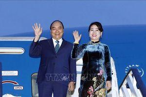 Thủ tướng Nguyễn Xuân Phúc lên đường thăm chính thức LB Nga, Na Uy và Thụy Điển
