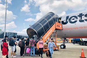 Tân binh Bamboo Airways gương mẫu, Jestar Pacific 'đội sổ' bay đúng giờ