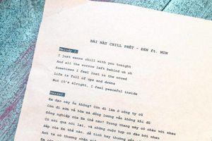 Than thở không biết đặt tên bài mới, Đen Vâu chính thức công bố tựa cùng lyrics siêu 'độc' ngay tại họp báo