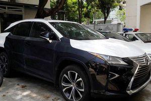 Trộm Lexus 350 ở Đà Nẵng rồi mang ra Nam Định cất giấu