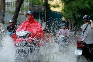 Chiều tối nay Hà Nội sẽ có mưa rào và dông