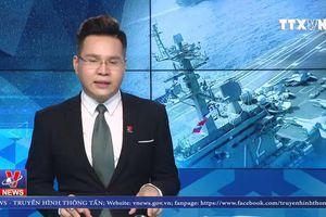 Hải quân Mỹ tập trận ở Biển Arab