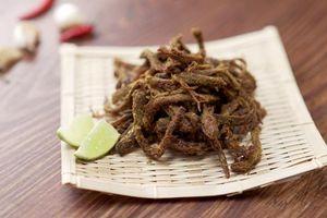 Cách làm thịt bò khô bằng chảo chống dính đơn giản mà cực ngon