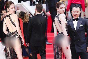 Ngọc Trinh 'mặc như không mặc' xuất hiện tại thảm đỏ Cannes 2019 và phản ứng của cư dân mạng