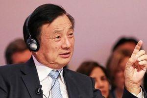 Ông Nhậm Chính Phi 'đáp trả' Mỹ: 'Tăng trưởng Huawei có thể chậm lại, nhưng không đáng kể'