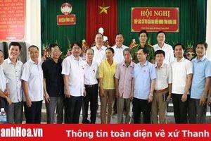 Đại biểu HĐND tỉnh tiếp xúc cử tri huyện Vĩnh Lộc