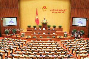 Một số hình ảnh Quốc hội khai mạc kỳ họp thứ 7 Quốc hội khóa xiv