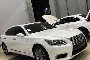 Nghệ An: Lexus LS 2007 'cải lão hoàn đồng' thành phiên bản 2017 vô cùng ấn tượng