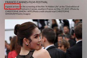 Ngọc Trinh diện trang phục như 'cởi truồng' tại 'Liên hoan phim Cannes 2019'