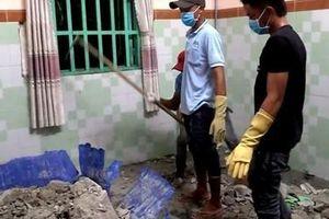 Tìm được 2 gia đình nạn nhân bị giấu xác trong khối bê tông