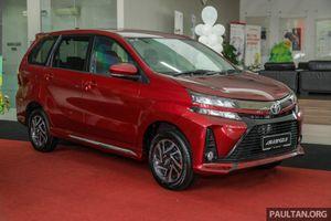 Ảnh chi tiết phiên bản nâng cấp của Toyota Avanza 2019
